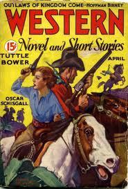 Old western magazine